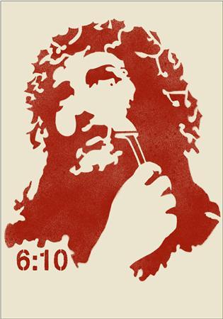 Sixten Jesus Shaves