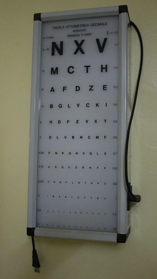 Seit 2015 gibt es auch eine Augenabteilung.