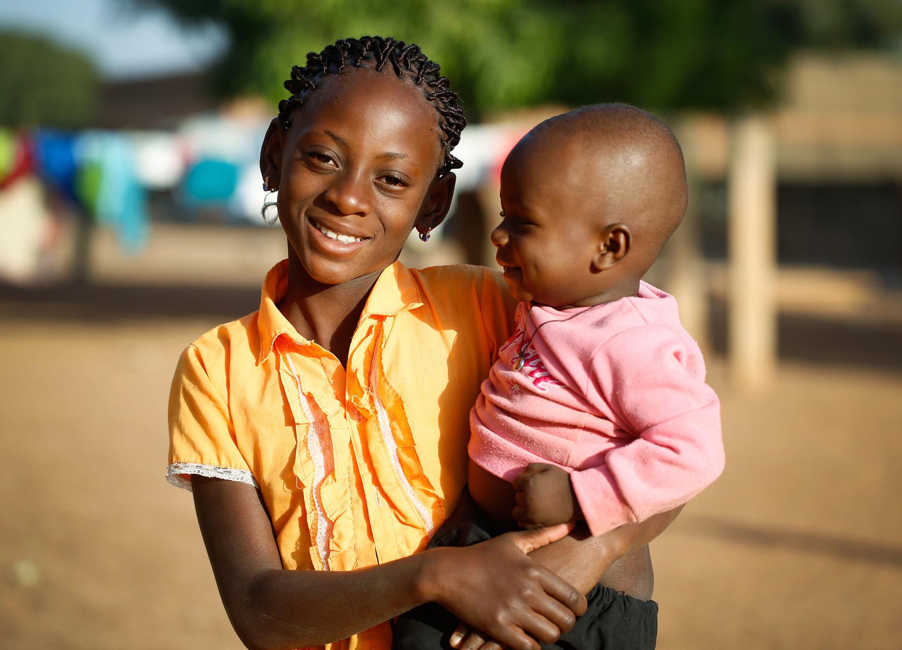 Im Zentrum für Kinder in Not LSI