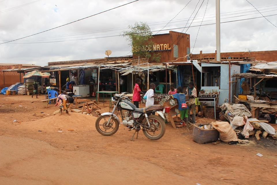 Tischfussball ist auch in Burkina sehr beliebt.