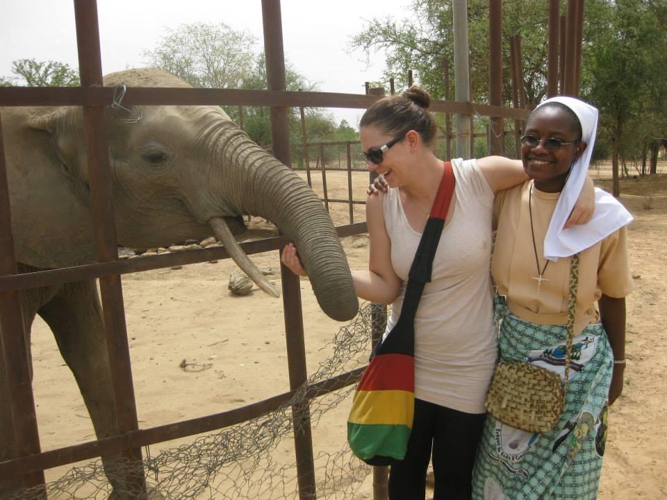 Ein Zoobesuch mit den Schwestern stand ebenfalls auf dem Programm.