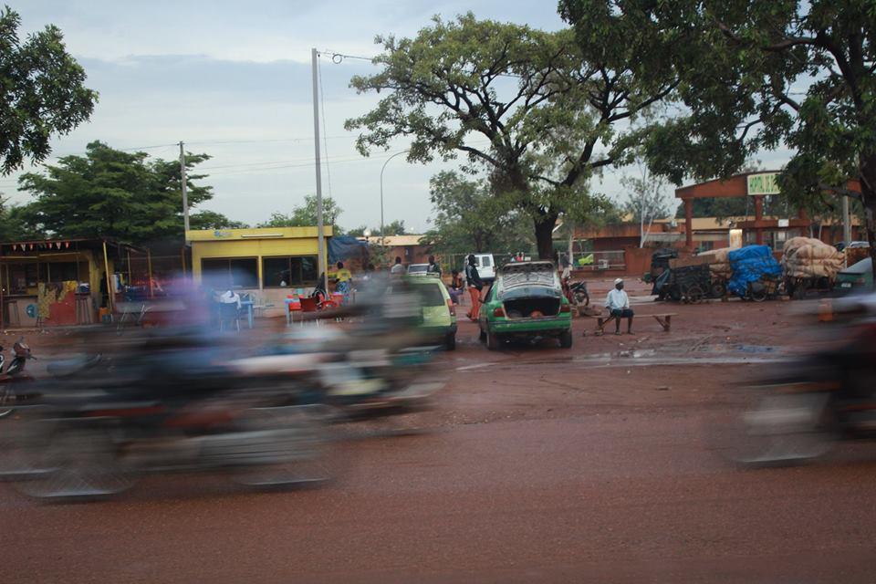 Das Hauptverkehrsmittel in Burkina Faso sind Motorräder.