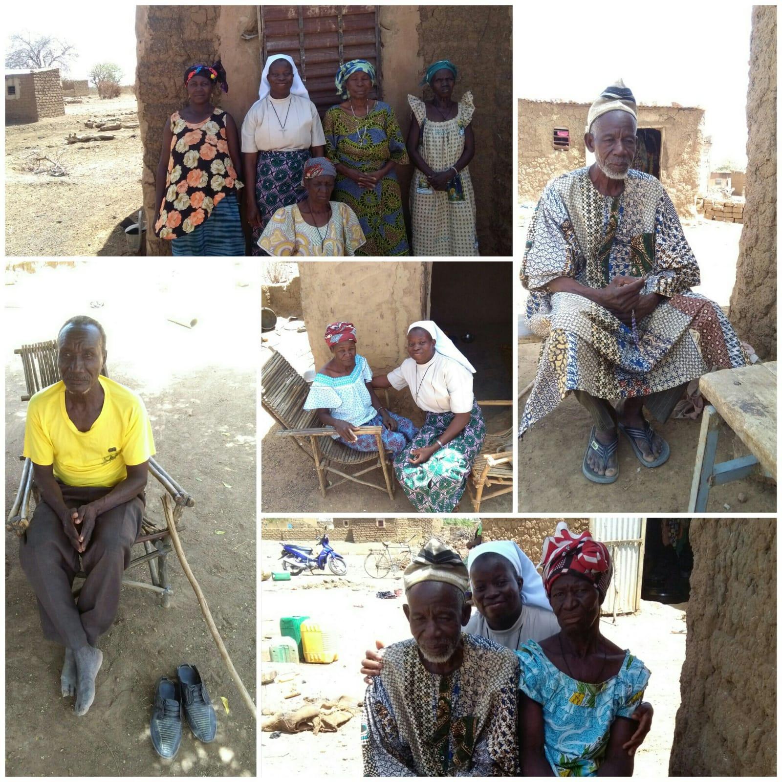 Die Schwestern besuchen regelmässig alte und kranke Dorfbewohner.