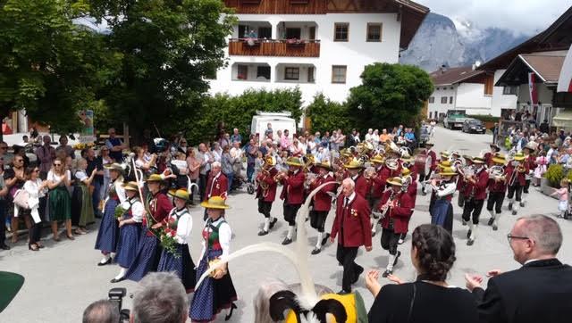 Musikkapelle Kreith, Bezirksmusikfest in Birgitz 2019