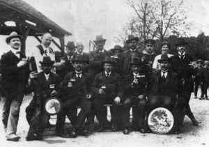Mitgliederbild aus dem Jahre 1912