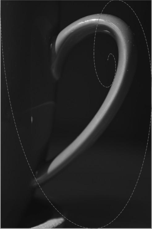 Perspektive 5 mit leichter Anlehnung an Goldene Spirale