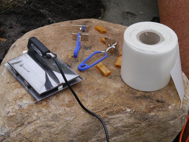 Teppichvlies-Werkzeug für Hügel-Installation