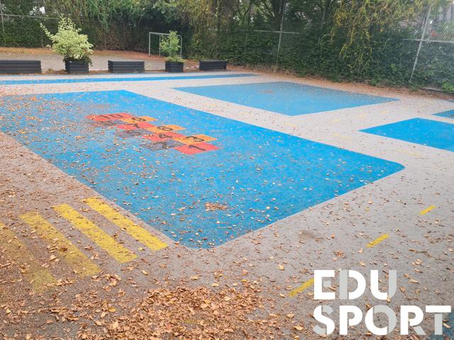 Teppichvliesbelag für Kindergarten von Edusport