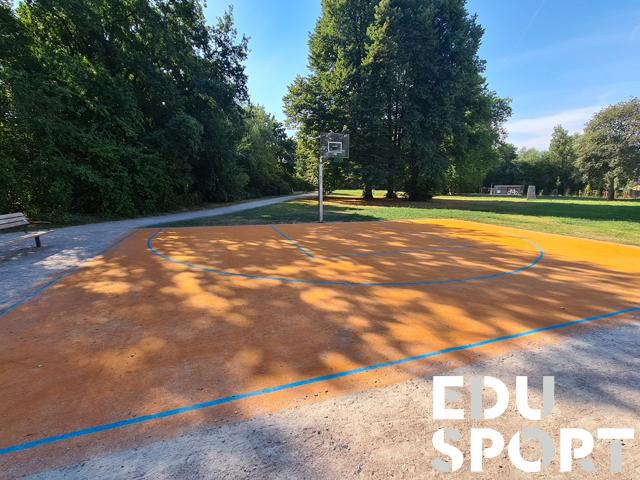 Teppichvlies für Basketball oder Streetball