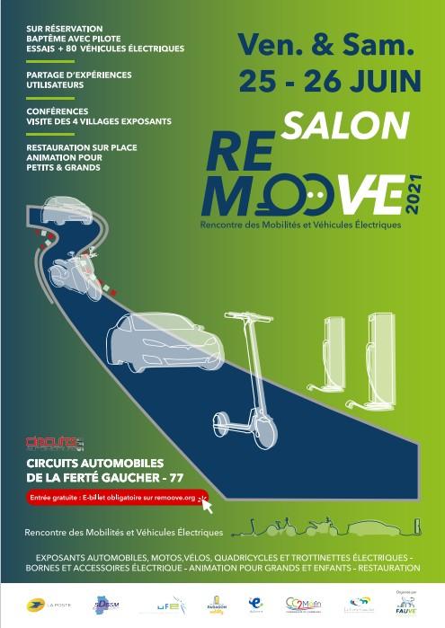 Remoove - le Salon des Mobilités organisé FFAUVE