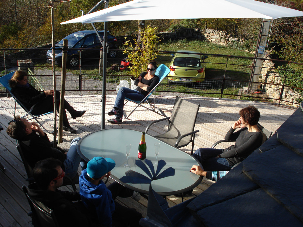 Gite La Garde Gagnac en Aveyron - Discussion cool !