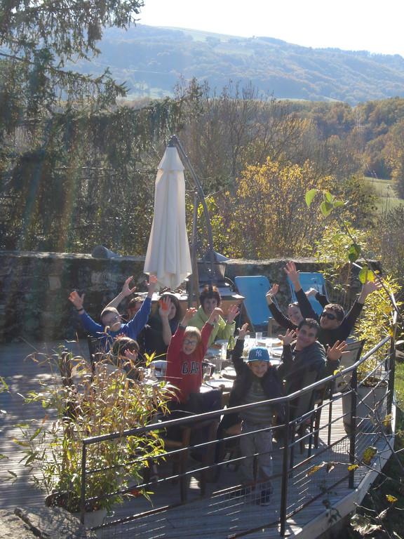 Gite La Garde Gagnac en Aveyron - C'est la fête