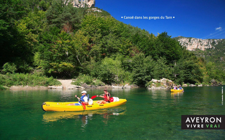 Sortie en canoë en Aveyron - Gite La Garde - Gagnac 12310