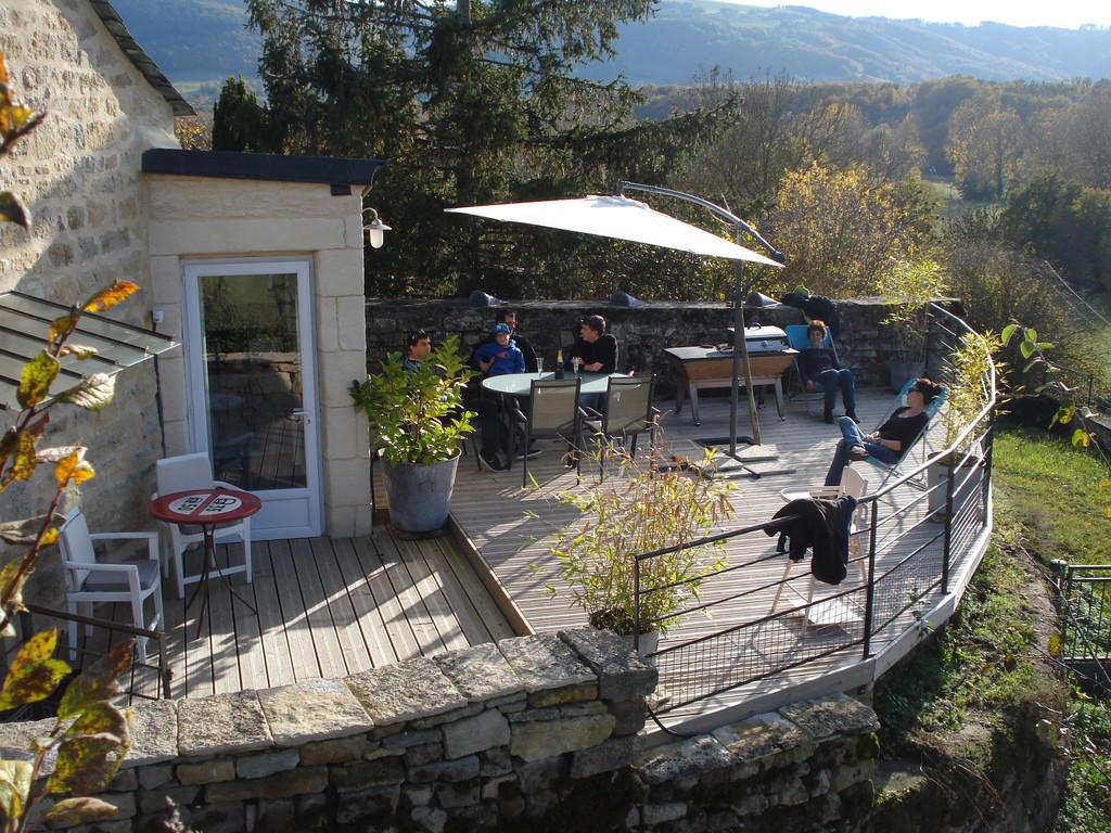 Gite La Garde Gagnac en Aveyron - Vue d'ensemble