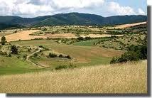 Paysage de causse en Aveyron