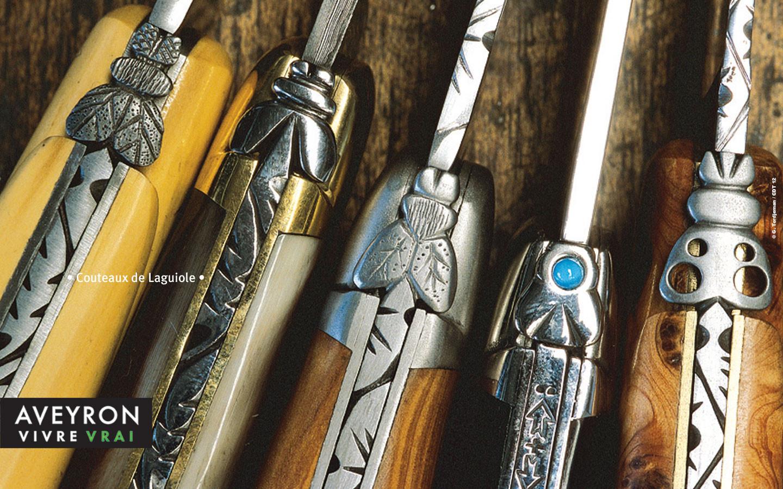 Les couteaux de Laguiole - Gite La Garde - Gagnac 12310