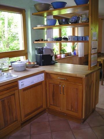 Landhausküche Kiefer vollmassiv geölt