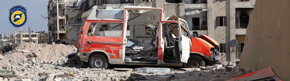 Angriffe auf Nothilfe in Aleppo - Putin sei bedankt