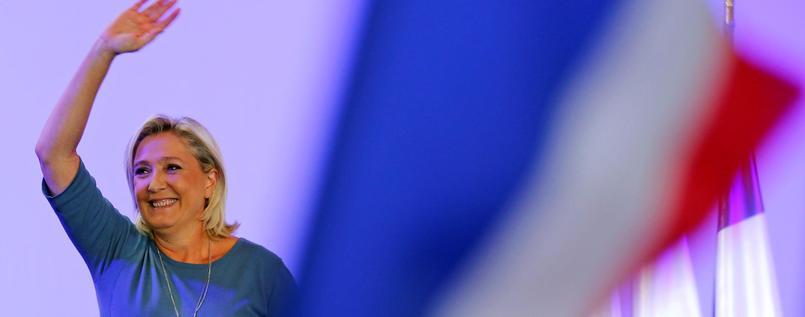 FN-Chefin Marine Le Pen.Foto: REUTERS