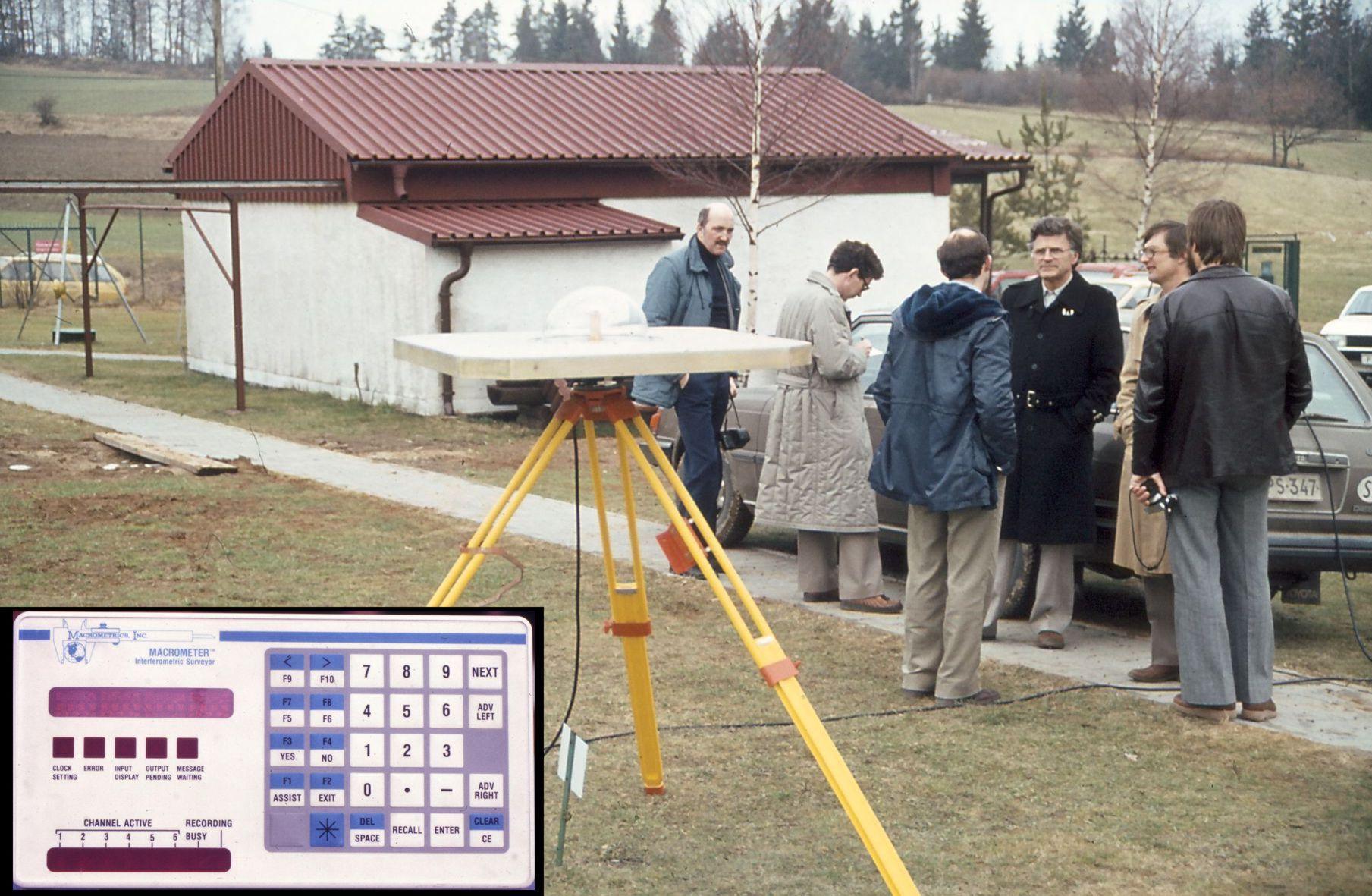 Erste GPS Positionsmessung in Deutschland mit einem Macrometer Interferometric Surveyor