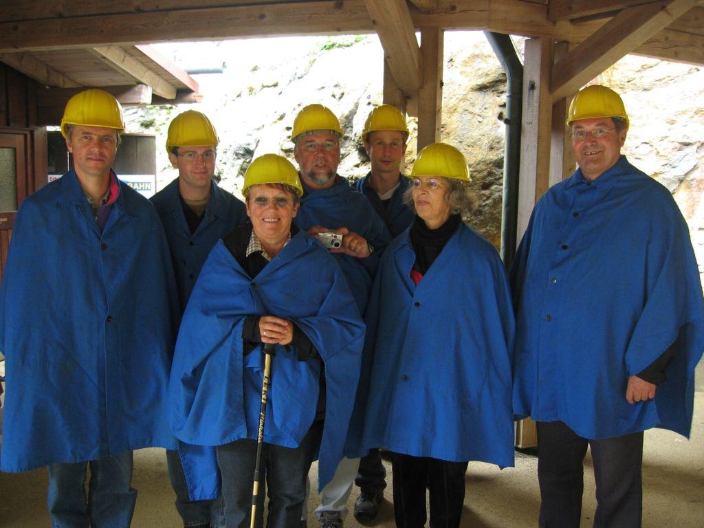 Bergwerk am Silberberg, Bodenmais, 10.07.2005