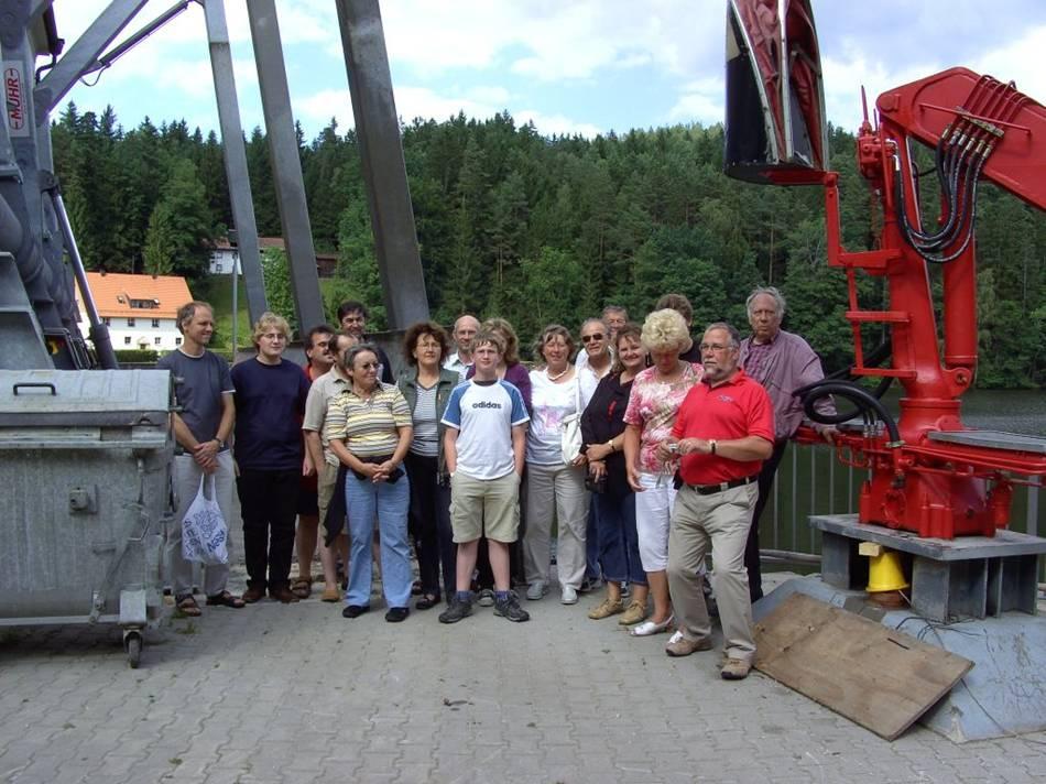 Wasserkraftwerk am Höllensteinsee, 04.07.2008