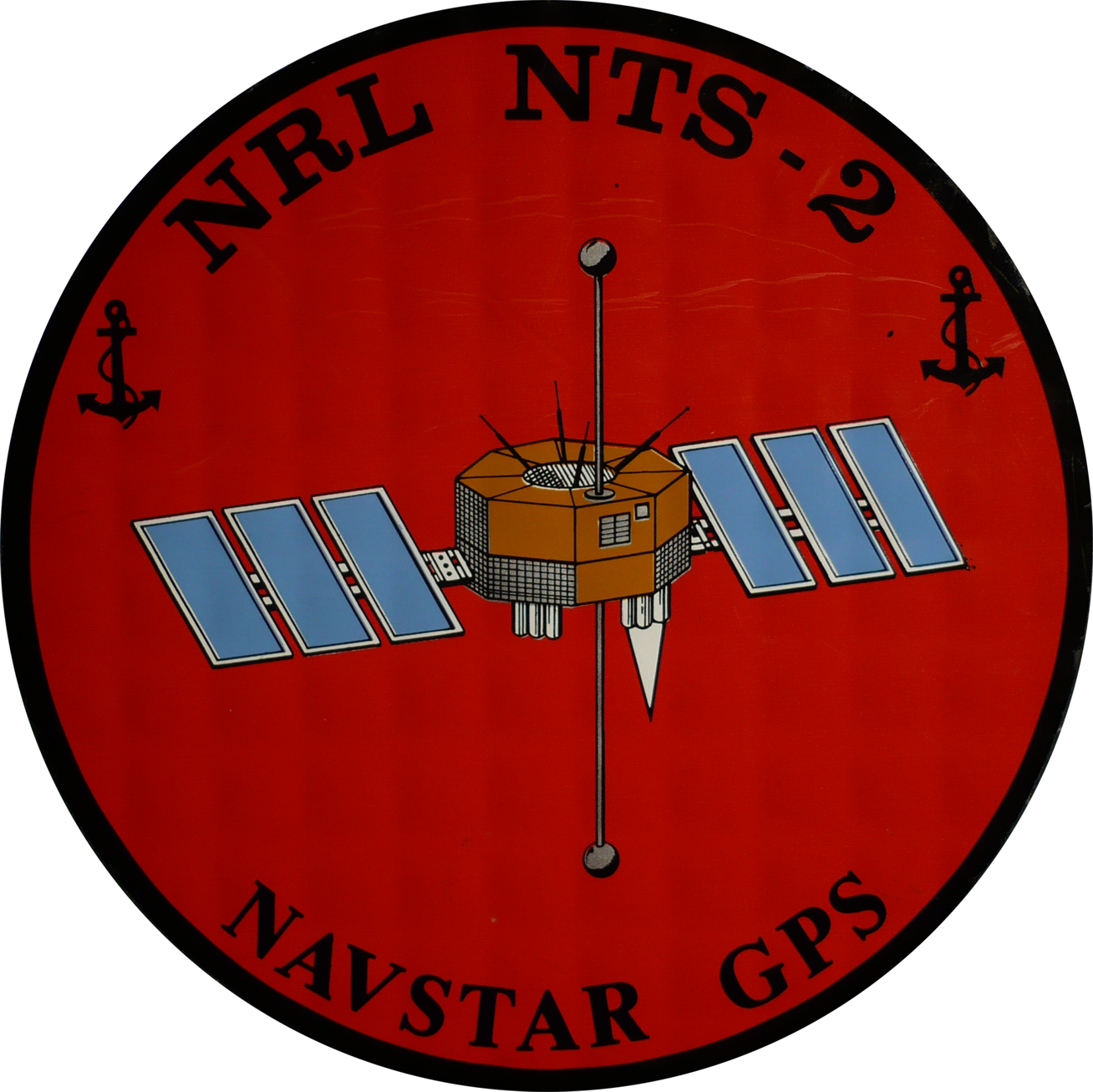 Navigation Technology Satellite 2 (Aufkleber)