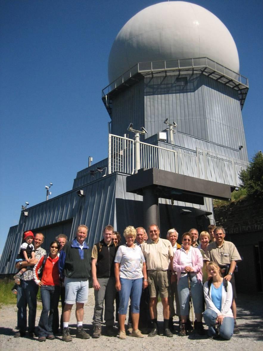 Radarstation auf dem Großen Arber, 17.07.2006