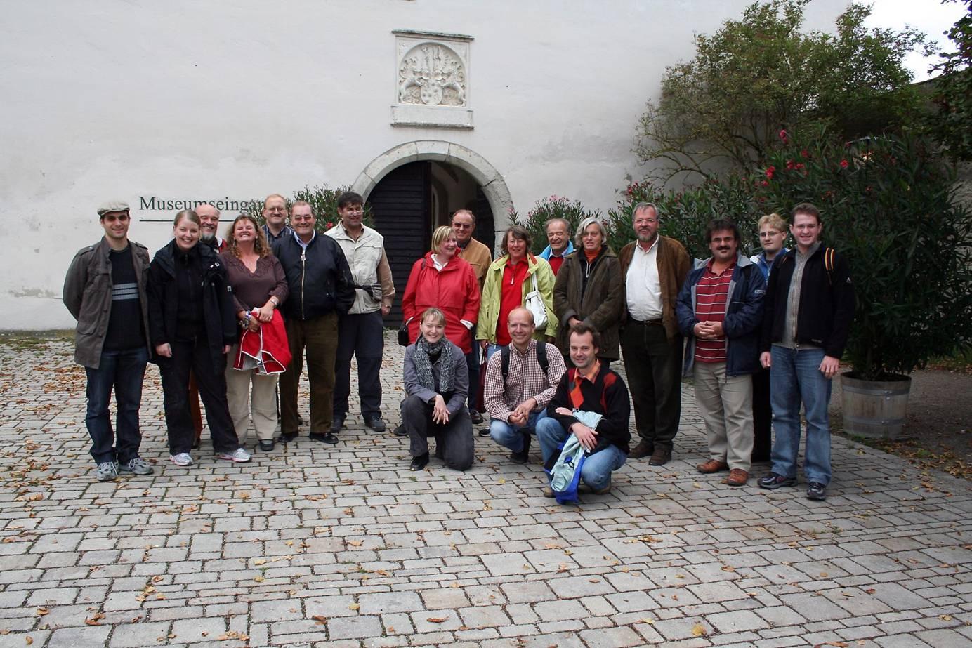 Impaktkrater Nördlinger Ries, Fossilienfundstätte Solnhofen-Eichstätt, 08. - 09.09.2007