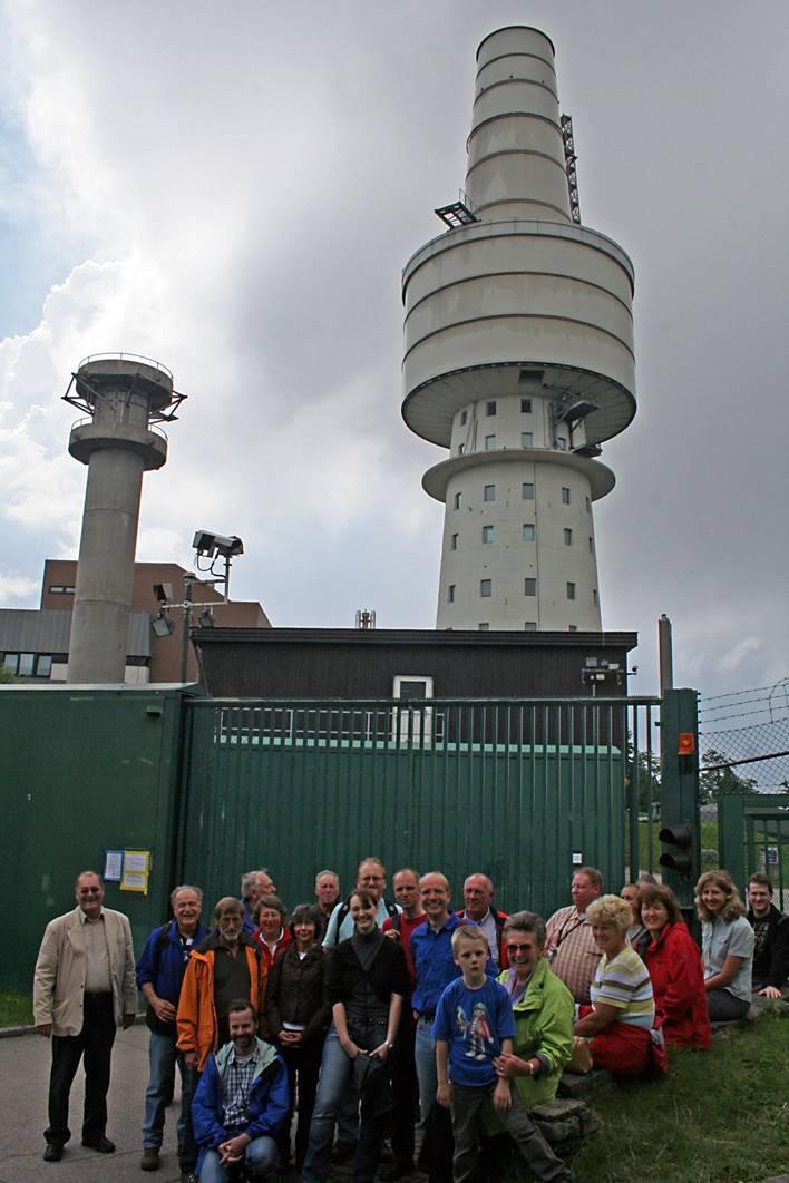 Elektronische Aufklärungsstation auf dem Hohen Bogen, 27.06.2009