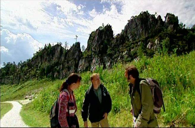 """Dreharbeiten für die """"Freizeit"""" im Juli 2005"""