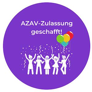 Geschafft: AZAV-Zertifizierung ist da – her mit den Bildungsgutscheinen!