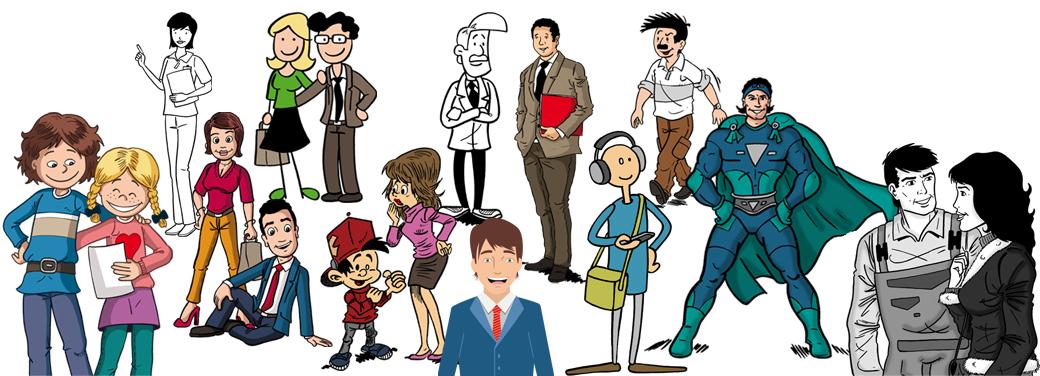 Comiczeichner Zeichenstile
