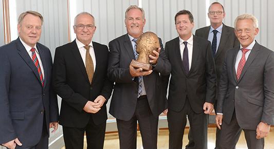 Dr. Götz Pätzold, Dr. Frank-Rüdiger Boos, Johann Schröder, Wolfgang Fass, Nils Schnorrenberger, Uwe Perl