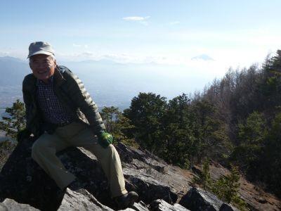 12:43 富士山をバックに