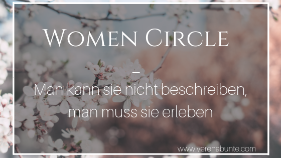 Women Circle Sisterhood Verena Bunte Womanifest Selbstvertrauen