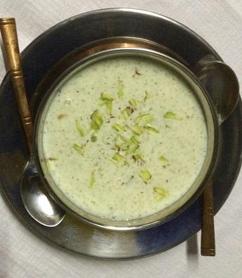 Firni, Indian dessert