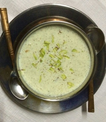 Firni, Indian dessert