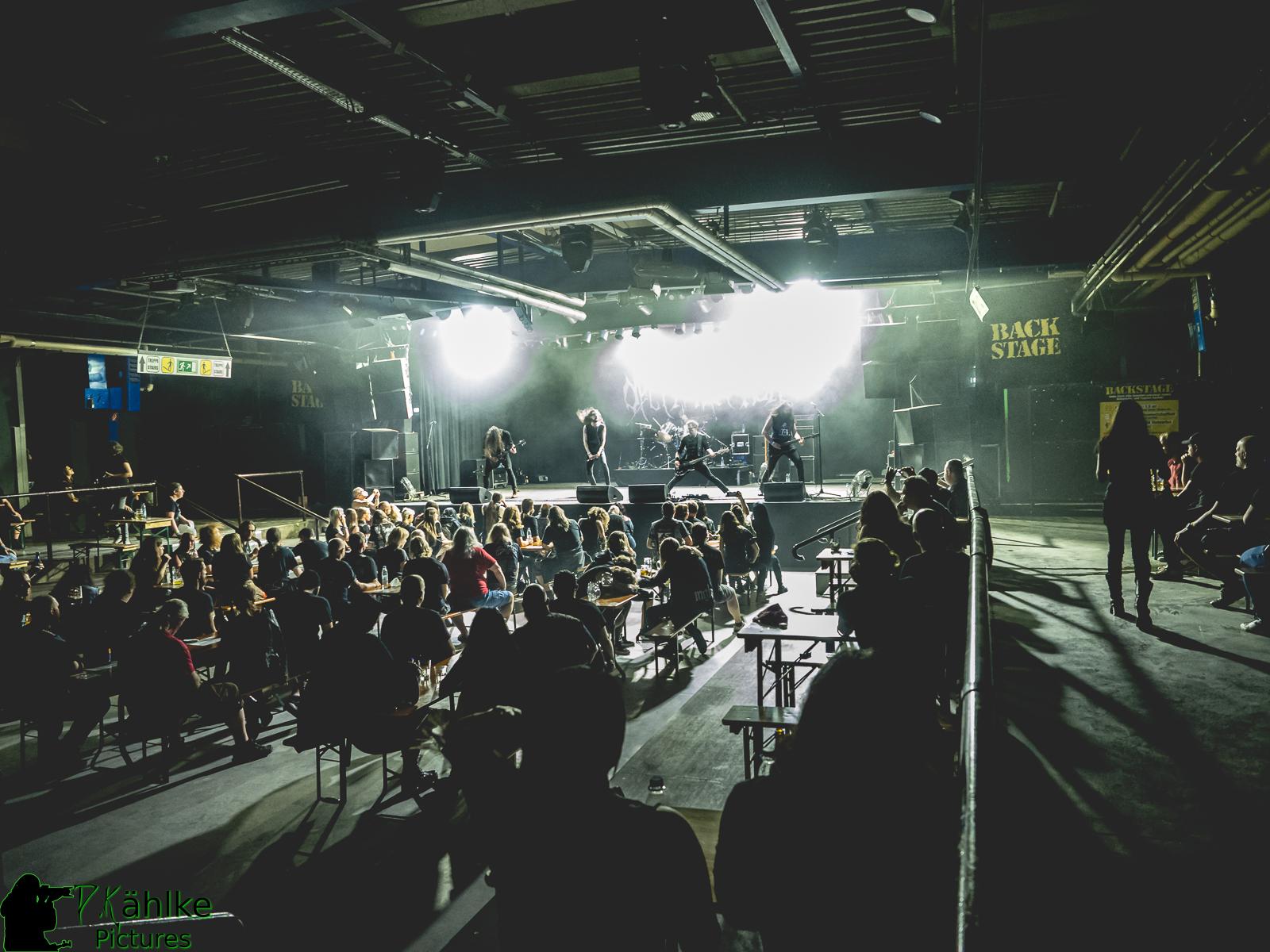 "Fotos vom ""Abstandskonzert"" mit den Bands: Décembre Noir + Sweeping Death + Krater || 26.06.2021 || Backstage München"