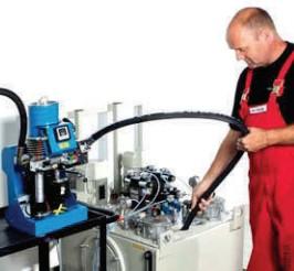 Hydraulik, Filtration, Nebenstromfiltration, Befüllen