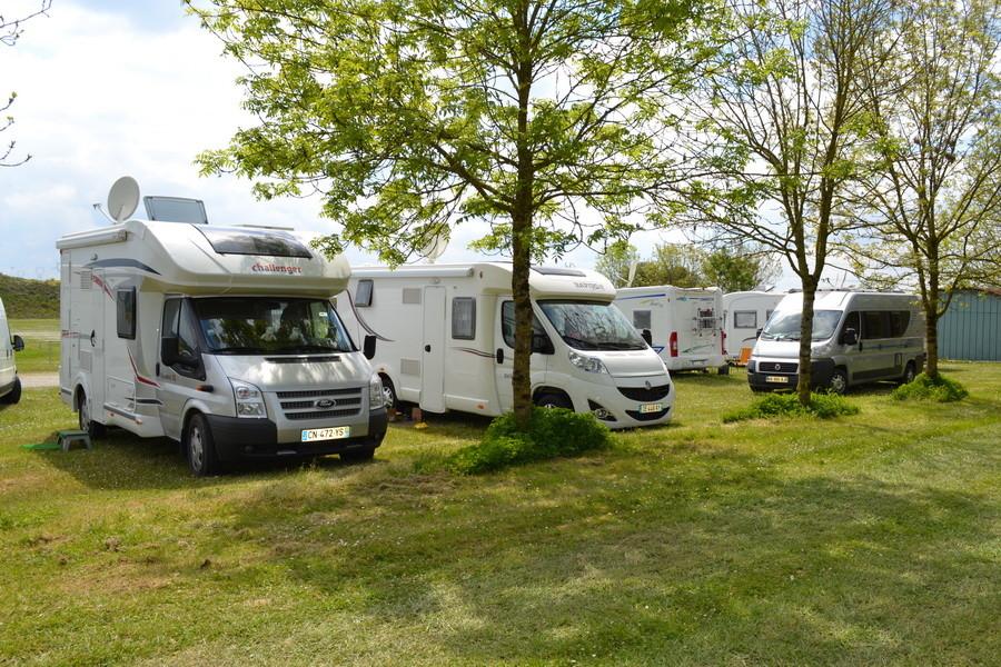 Emplacement caravane et camping car
