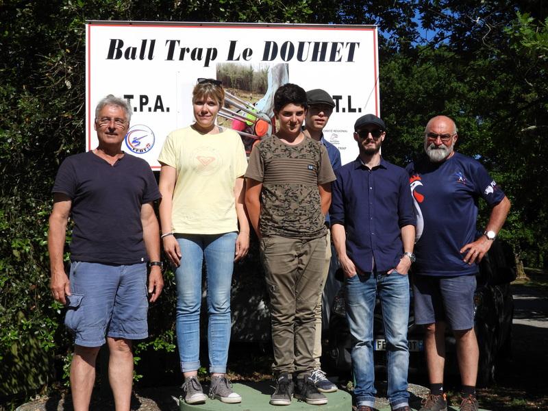 Les élèves de l'école de tir du CTPA  Avec Georges et Joel Instructeurs