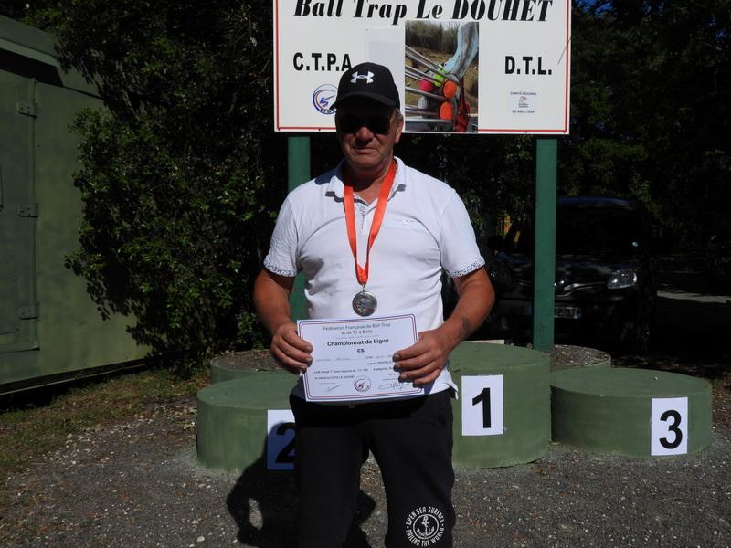 Mer Goujon Médaille De bronze en SV