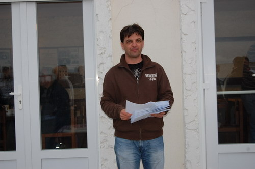 Fabien Auger.Président du BTC Fouras