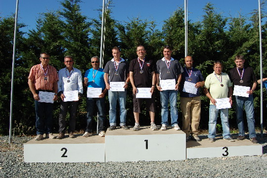 Aunis 1er Par équipe au championnat de Ligue FU 2011