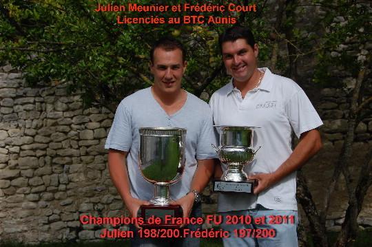 Quand 2 Jeunes Champions de France se retrouvent.......