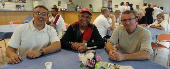 Philippe médaillé au France FU un grand moment partagé avec Régis et Pierre