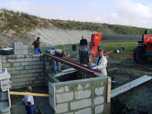 Octobre 2010, les travaux des nouvelles FU avancent, merci à tous les participants dont de nombreux bénévols.