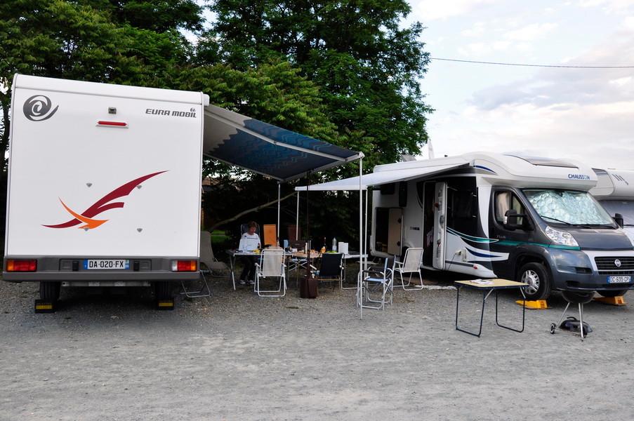 Les camping Caristes  ( Poitiers et Chatelaillon )