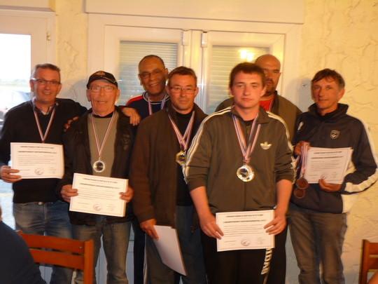 Fouras 2ème par équipe au Championnat départemental FU